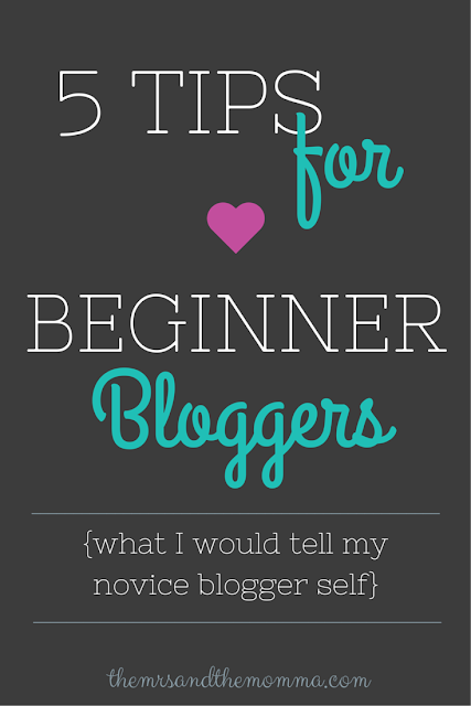 5 Tips For Beginner Bloggers