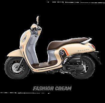 Scoopy ESP Sporty White 2020 Sejahtera Mulia Cirebon