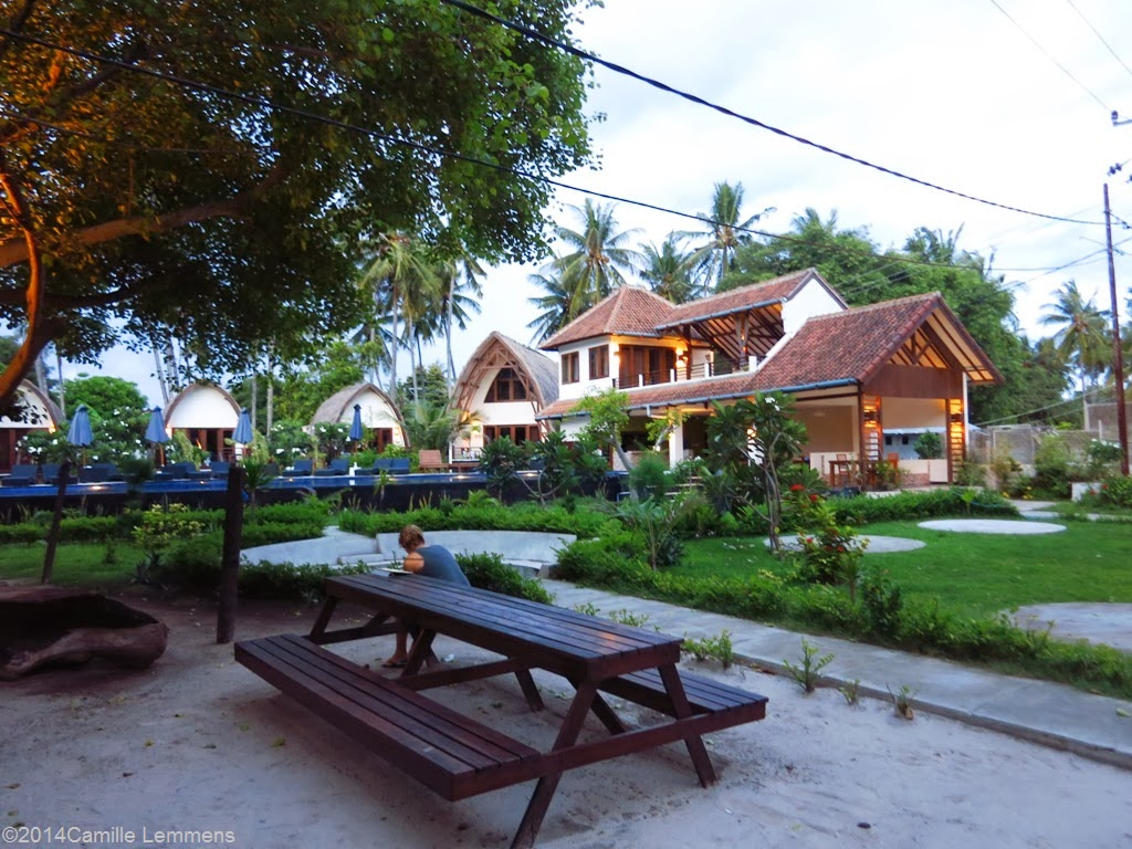Oceans 5 dive resort, Gili Air, Indonesia