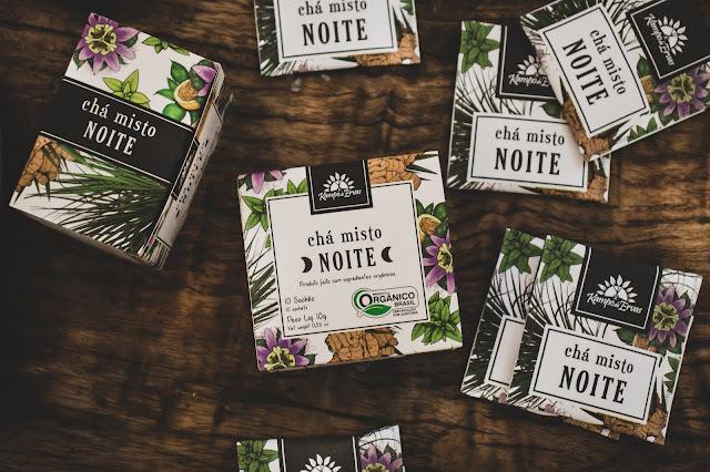 Chá Misto Noite - Kampo de Ervas