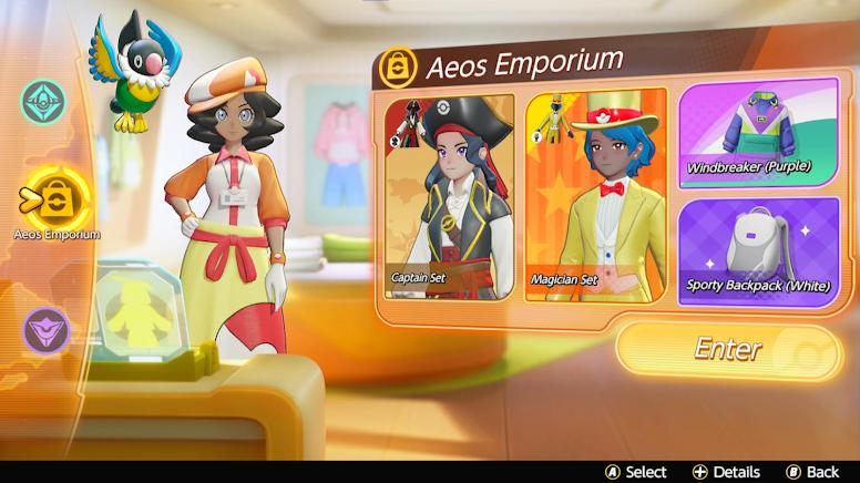 Pokémon Unite - Aeos Emporium