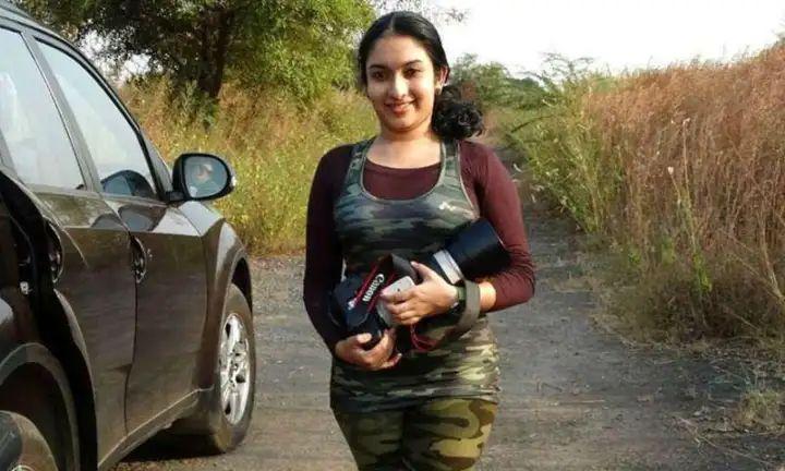 Aishwarya Sridhar, Wildlife Photographer of the Year award Winner