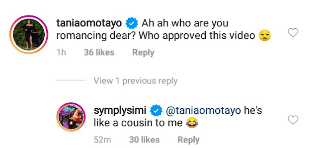 'He's Like A Cousin To Me' - Singer Simi Debunks Cheating Rumors