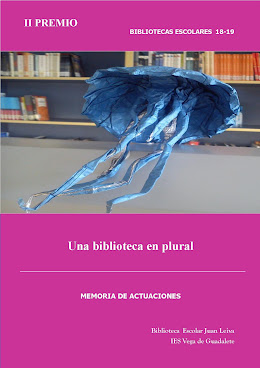 I PREMIO BIBLIOTECA ESCOLAR 2018-19. Junta de Andalucía