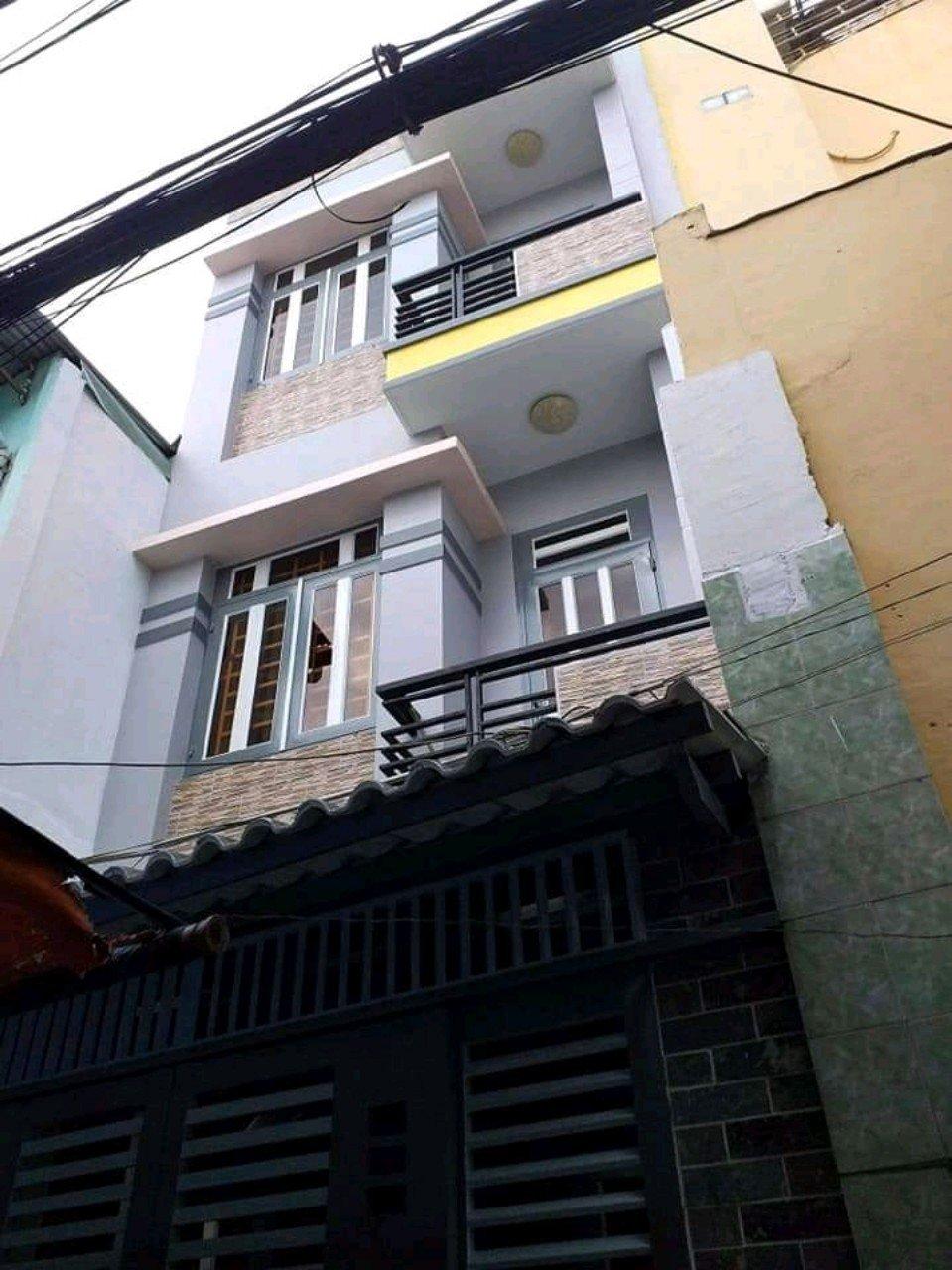 Bán nhà hẻm Tùng Thiện Vương Quận 8. DT 3,6x11m trệt 2 lầu sân thượng