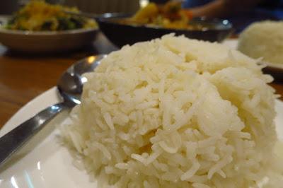 Tambuah Mas, rice