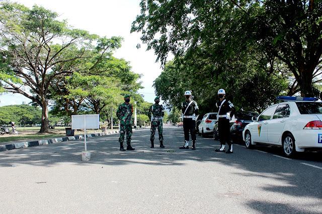 Dandim 0101/Aceh Besar: Aceh Zona Merah, Untuk Sementara Lapangan Blang Padang di Tutup