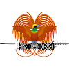 Logo Gambar Lambang Simbol Negara Papua Nugini PNG JPG ukuran 100 px