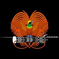 Logo Gambar Lambang Simbol Negara Papua Nugini PNG JPG ukuran 200 px