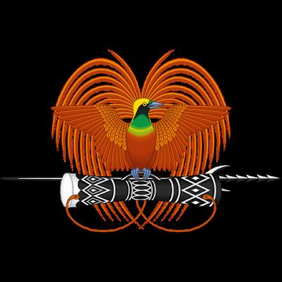 Coat of arms - Flags - Emblem - Logo Gambar Lambang, Simbol, Bendera Negara Papua Nugini