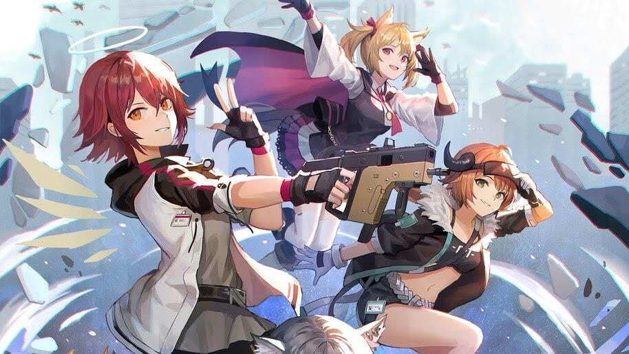 Anime, Girls, Arknights, Game, 4K, #6.1792