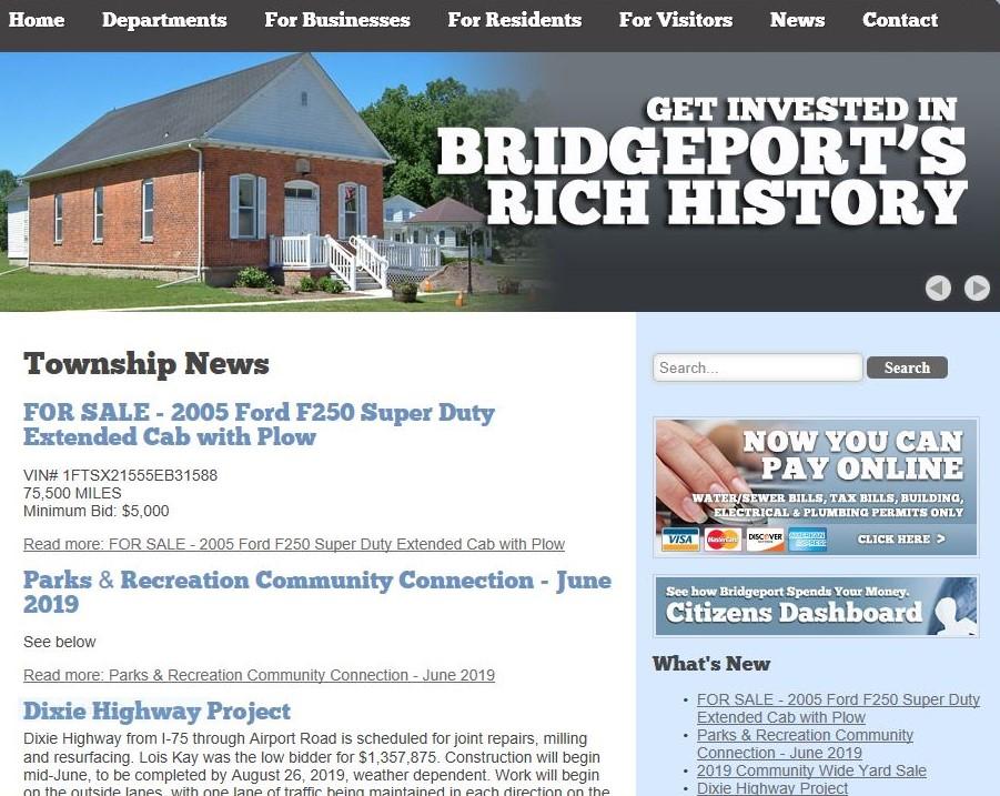 Bridgeport Musings: 2019