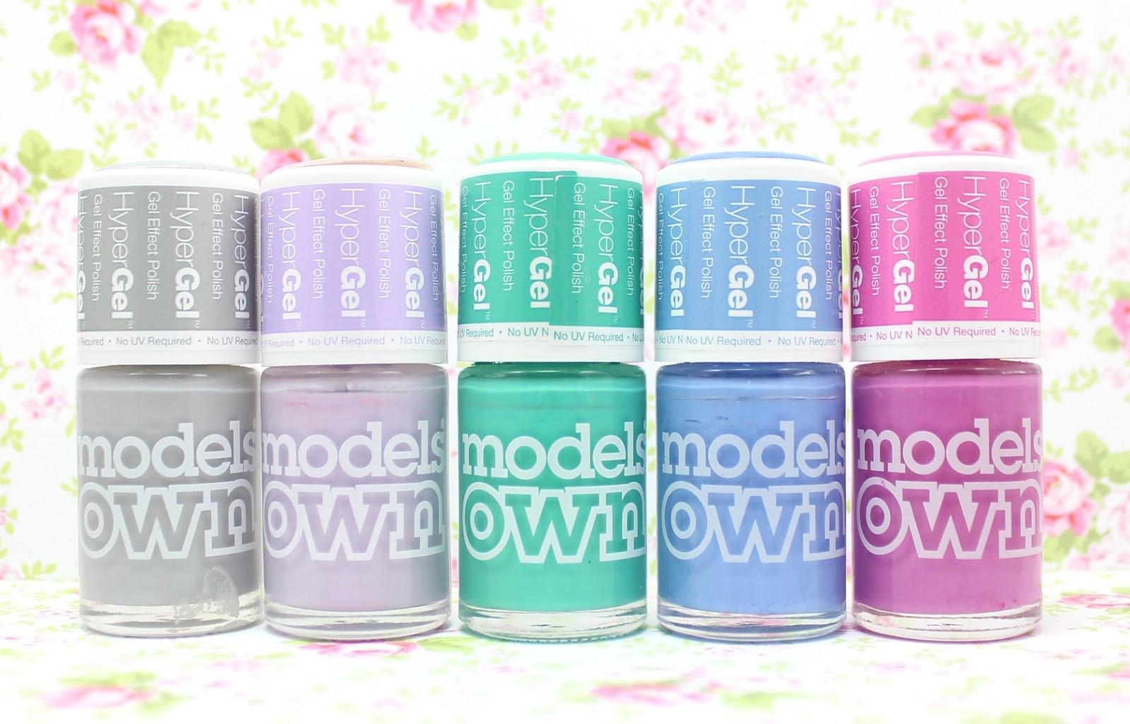 Models Own Hypergel Polishes