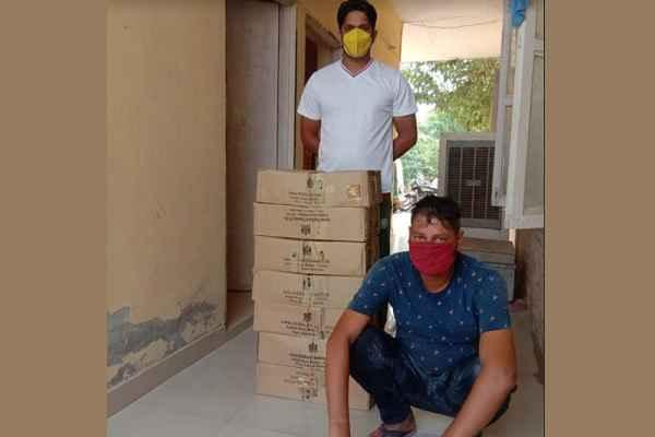 faridabad-crime-branch-sector-56-arrested-illegal-wine-tskar
