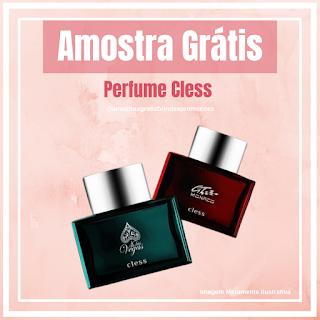 Amostra Grátis Perfume Cless