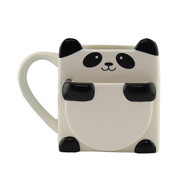 Panda Hug Cookie Cup