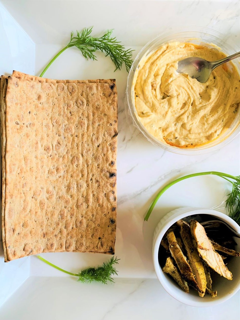 Flatbread sandwich is quick and easy to make