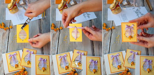 cardmaking diy easter card jak zrobić kartę świąteczną wielkanoc zrób to sam