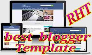 Seo ready responsive blogger template 1