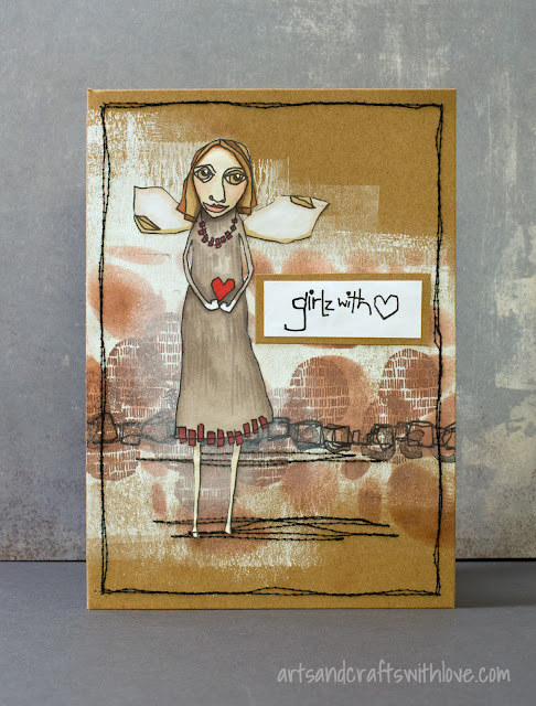 Cardmaking: Girlz With Heart