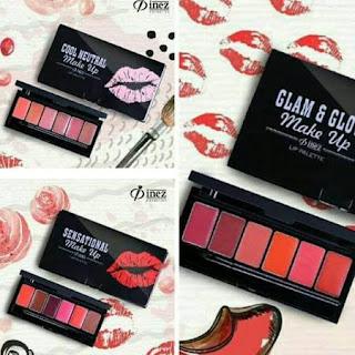 Inez Make Up Lip Palette