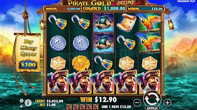 (GAME BARU!!!) PIRATE GOLD DELUXE SLOT ONLINE PRAGMATIC -BENGKELHOKI