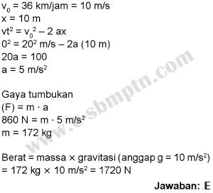 soal fisika sbmptn 2