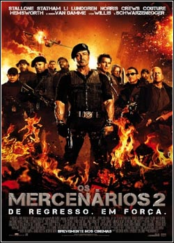 Modelo Capa Download – Os Mercenários 2 – R6 AVI (2012)
