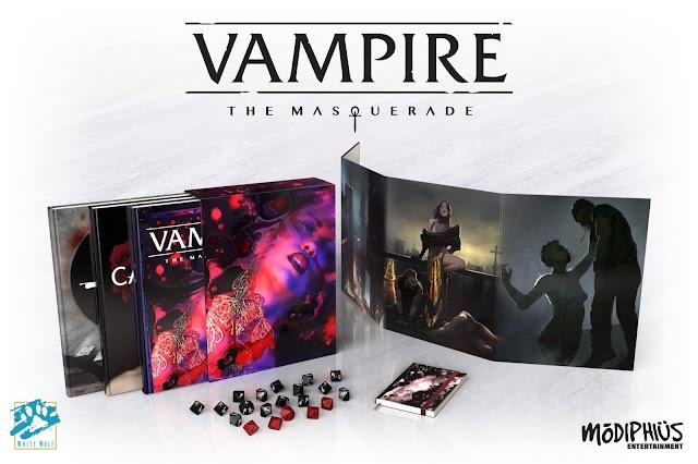 Vampiro: A Máscara volta ao Brasil! E sua Quinta Edição já tem uma nova casa!
