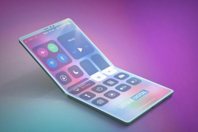 Apple concept foldable phone