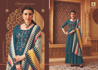 Alok Suits Kaashvi Pashmina Collection 2019 Latest