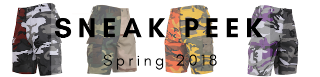 2018 Sneak Peak - Your First Look At Two-Tone Camo Shorts