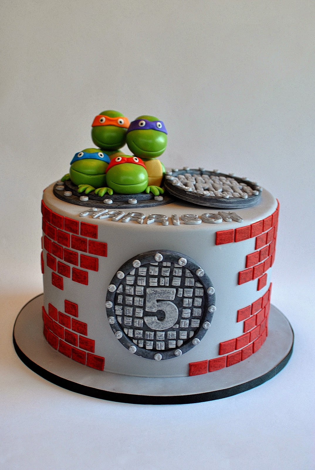 Hope S Sweet Cakes Frozen And Tmnt Ong With Some