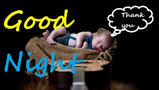 very cute baby good night images