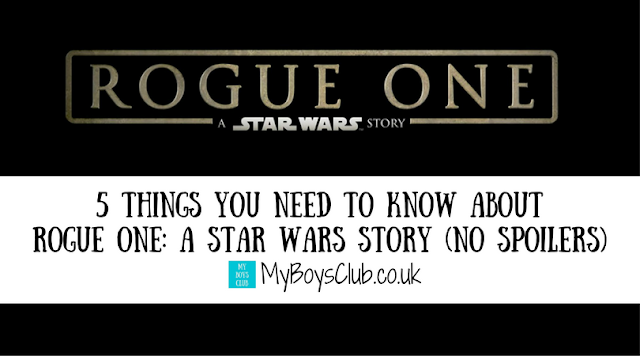 5 Things you Need to Know About Rogue One: A Star Wars Story