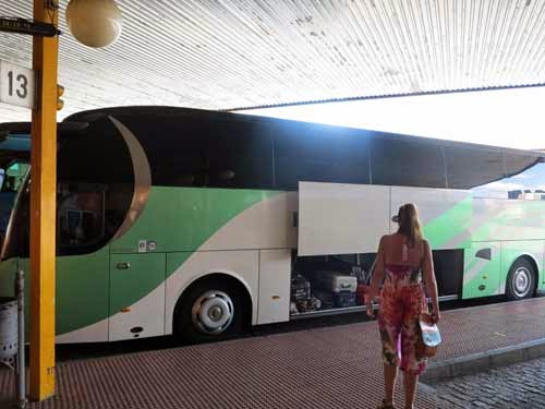 Getting From Salamanca to Porto by Bus.