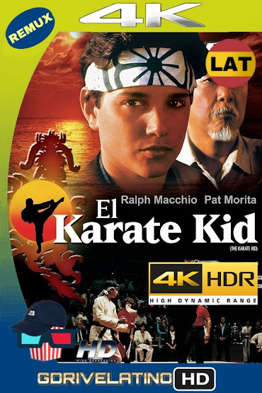 Karate Kid (1984) BDRemux 4K HDR Lat-Cas-Ingles MKV