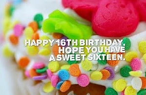 Sweet 16 Year Old Birthday Wishes - Birthday Messages for 16 Year Olds