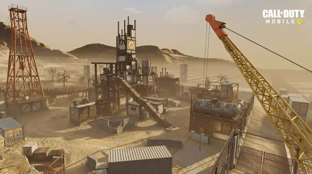 call of duty mobile new update Rust Map