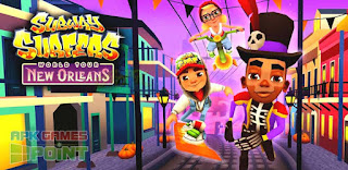 Subway Surfers Mod Apk New Orleans