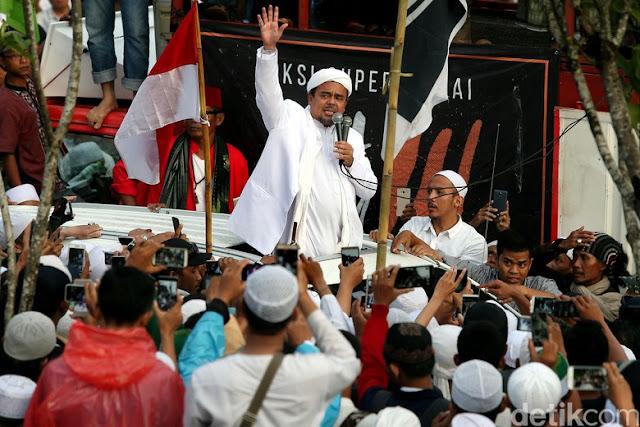 Dicalonkan jadi Capres 2019, Elektabilitas Habib Rizieq di Hasil Survei Terbaru Bikin Kaget