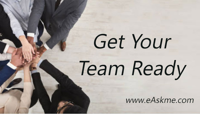 get Your Team ready: The Complete, 12-Steps Guide on Starting a New Business: easkme