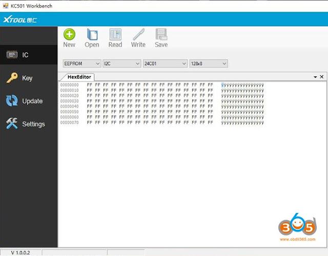 xtool-kc501-software