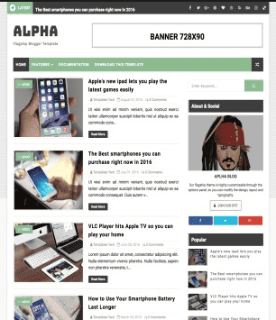 Alpha HomePage pics for bloggers