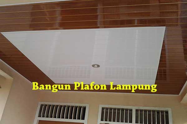 HARGA BORONGAN PLAFON PVC LAMPUNG 2020