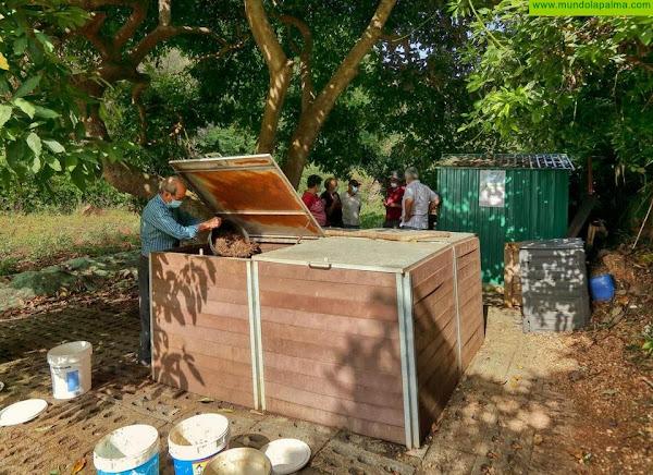 La compostera comunitaria de Puntallana, un ejemplo para toda la isla