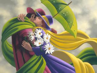 pinturas-de-parejas-arte-contemporáneo-realista realismo-contemporaneo-pinturas-parejas