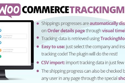 WooCommerce TrackingMore v1.1