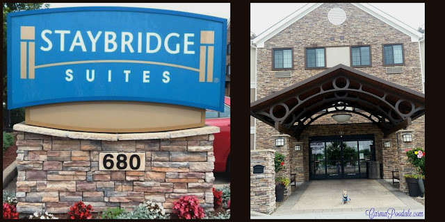 Front of STAYBRIDGE Suites in Bowling Green Kentucky