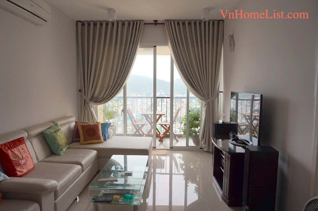 Apartment for Rent Vung Tau Plaza 2 BEDS